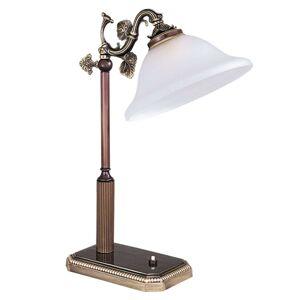 Stolní lampa ze série Rialto, bílá