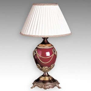 Umělecky ztvárněná stolní lampa Prestige - 47 cm