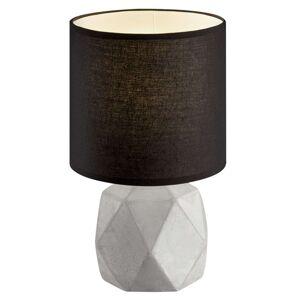 Na jedné betonové noze stojící stolní lampa Pike