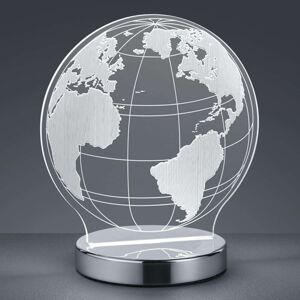 S 3D efektem - stolní lampa LED Globe, nastavovací