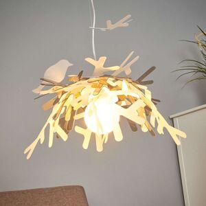 Slamp Luis - designové závěsné světlo, zlaté
