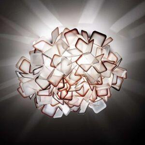 Slamp Clizia - designové nástěnné světlo, oranžové