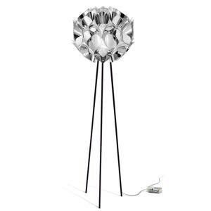 Slamp Flora - designová stojací lampa, stříbrná