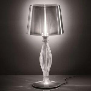 Slamp Liza - průhledná stolní lampa