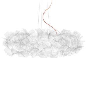 Slamp Clizia Pixel závěsné světlo, kabel červený