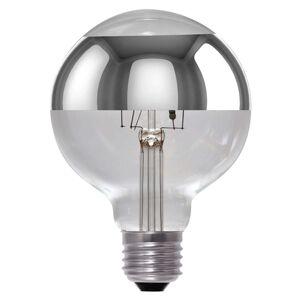 LED žárovka Globe G95 zrcadlová E27 8W, stmívací