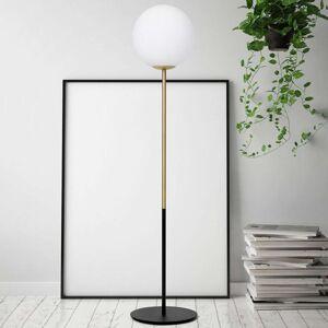 Mosazná stojací lampa Jugen jednozdrojová