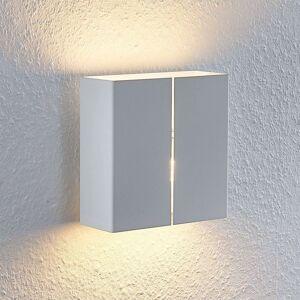 Lindby Putri nástěnné světlo z oceli, bílé