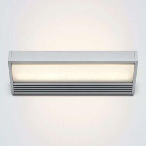 serien.lighting SML LED nástěnné světlo stříbrné