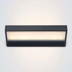 serien.lighting SML LED nástěnné světlo černé