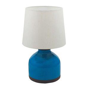 Terrakottová stolní lampa Oli bílé stínidlo, 46 cm