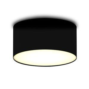 Černé textilní stropní světlo Ceiling Dream