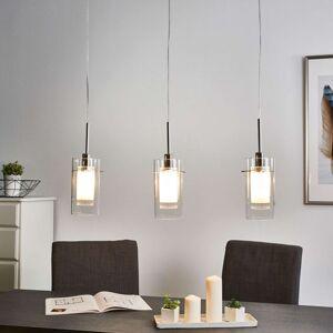 Duo 1 ozdobná visící svítidla na 3 žárovky