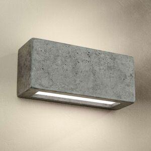 Z betonu odlité nástěnné světlo Proof