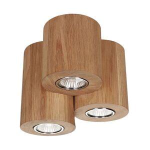 Třízdrojové LED stropní svítidlo Wooddream