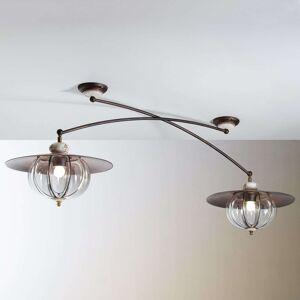 Dvouzdrojové stropní světlo Lampara venkovský styl