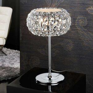 Stolní lampa DIAMOND s křišťály