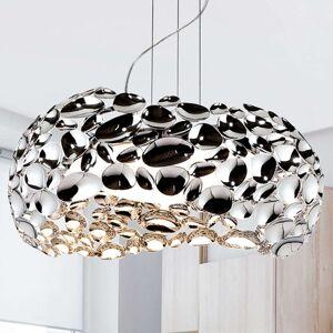 LED závěsné světlo Narisa 47 cm lesklý chrom