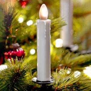 Sompex LED svíčka-strom Shine, slonovina, bezdrátová, 5ks