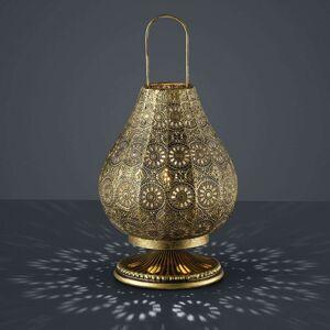 Jasmin - stol.lampa orientální starož. mosaz