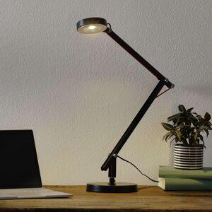 Černé multifunkční LED světlo Amsterdam
