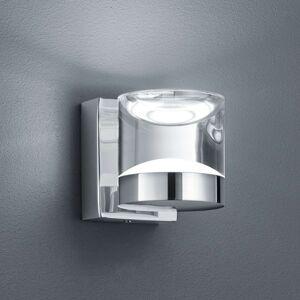 Leskle chrom. koupelnové nást. LED světlo Brian