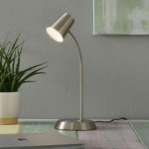 Niklová LED stolní lampa Narcos