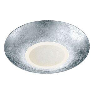 Stropní LED světlo Chiros kulaté stříbro