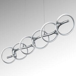 Závěsné LED světlo Olympus 6 žár., stmívatelné