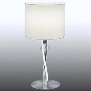 Moderní stolní lampa Nandor s přídavnými LED