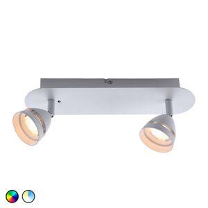 Trio WiZ Gemini stropní LED světlo 2žár.