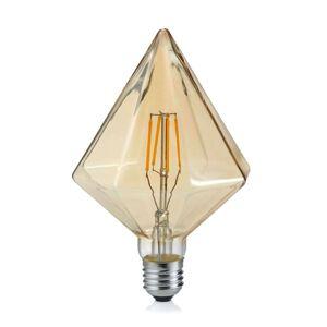 LED žárovka E27 4W 2.700K Diamant jantar
