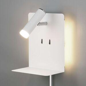 Nástěnné LED světlo Element s policí bílý mat