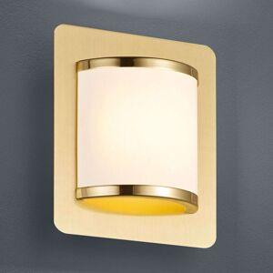 Nástěnné LED světlo Agento matná mosaz