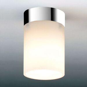 Decentní stropní světlo DELA BOX SHORT, chrom