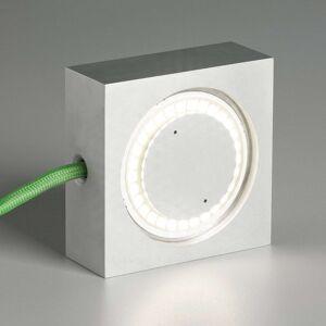 TECNOLUMEN Square stolní lampa LED zelený přívod