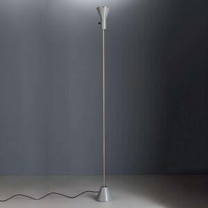TECNOLUMEN Gru - stojací lampa LED, šedá