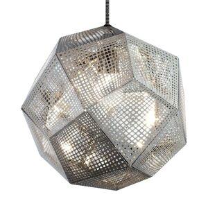 Tom Dixon Tom Dixon Etch - geometrické závěsné světlo, nerez