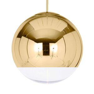 Tom Dixon Mirror Ball závěsné světlo zlaté, 50 cm