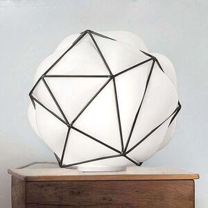 Stolní lampa Semai s ručně foukaným stínidlem