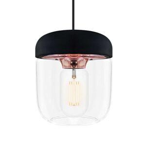 Závěsná lampa UMAGE Acorn, černá/měď