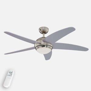 Ventilátor Westinghouse Bendan, světlo, stříbrný