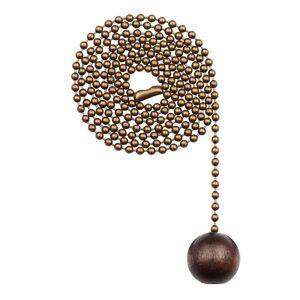 Westinghouse závěsný řetěz, kuličky ořešák, mosaz