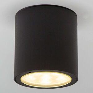 Kulatý LED venkovní stropní reflektor Meret, IP54