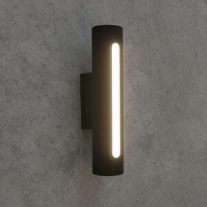 LED venkovní nástěnné svítidlo Tomas, tmavě šedé