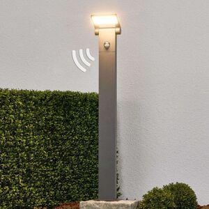 Patníková LED lampa Marius s čidlem, 80 cm