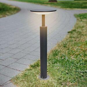 Antracitové osvětlení LED cesty Fenia