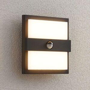 Lucande Gylfi LED nástěnné světlo, čtverec +senzor