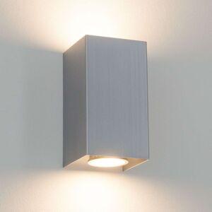 Hranaté kovové nástěnné světlo Kabir, GU10 LED