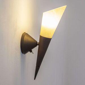 Nástěnné světlo Alva s LED žárovkou E14
